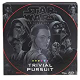 Hasbro Trivial Pursuit: Star Wars the Black Series Edition - Test Your Knowledge with Over 1,800 Easy To Extremely Difficult Questions for Ultimate Fans - 2-4 Players - Instructions Included