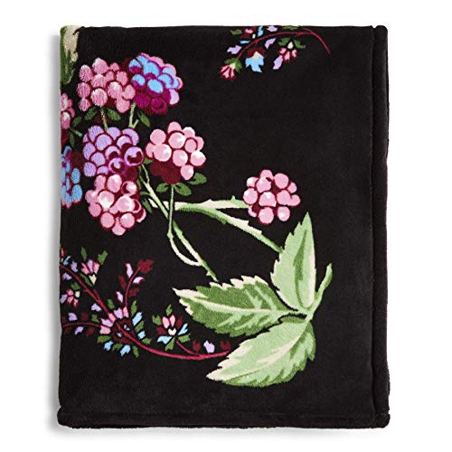 Vera Bradley Women's Throw Blanket, Snow Lotus