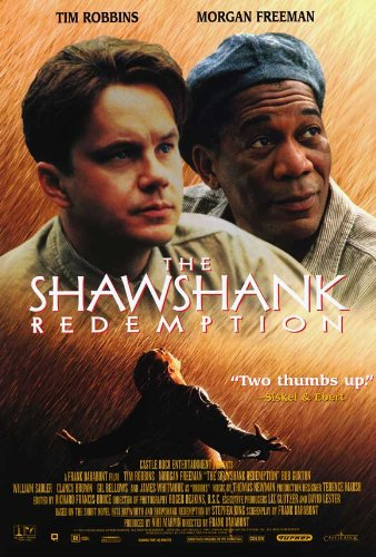 The Shawshank Redemption 27x40 Movie Poster
