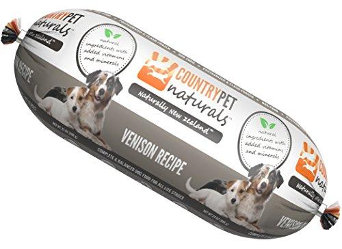 CountryPet Naturals Pasteurized Frozen Dog Food, Venison Rec