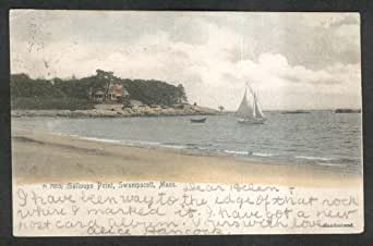 Galloups Point Swampscott Ma Undivided Back Postcard 1906 Entertainment Collectibles
