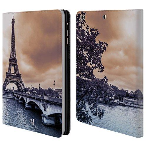 Head Case Designs Parigi Skyline Citta Cover a portafoglio in pelle per Apple iPad mini 1 / 2 / 3