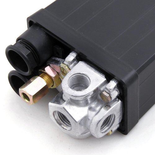 Pressostat Compresseur dair Commutateur Vanne Comando Pression 90-120 PSI 240V
