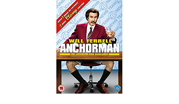 Anchorman - The Legend Of Ron Burgundy DVD by Will Ferrell ...