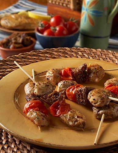 Frozen Mediterranean Chicken Kabob - Gluten-Free Appetizers (25 Piece Tray)