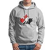 T Canan Men's Hoodie Life Guard Sweatshirt- 2016 World Cup Of Hockey TEAM CANADA