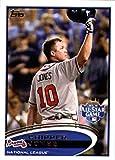 2012 Topps Update #US166a Chipper Jones Braves AS MLB Baseball Card NM-MT