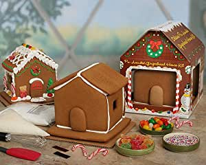 Pre-assembled Gingerbread House Kit