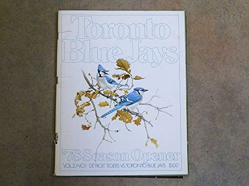 Yearbook Near Mint (TORONTO BLUE JAYS BASEBALL YEARBOOK - 1978 - NEAR MINT)