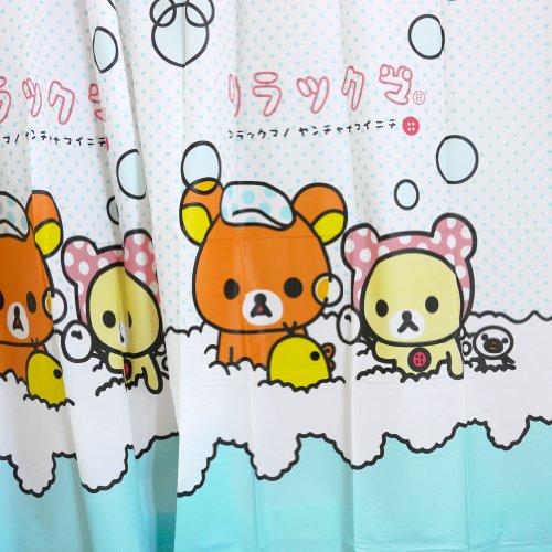 Rilakkuma Shower Curtain  Bubble Bath - Import It All 8cfc8c433