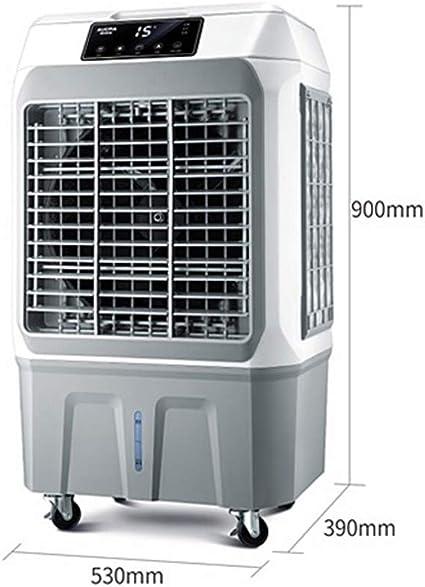 Súper viento silencioso industria enfriamiento Ventilador mecánico aire acondicionado 3 en 1 con humidificador ventilador y función purificador aire, 3 velocidades ventilador con oscilación, voltaje: Amazon.es: Deportes y aire libre