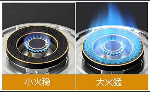 5500w Gas Stove Double Fire Home and Commercial 2 Pots Gas Hobs Dual-cooker Gas Cooktop Catering Equipment by SMILESSGSP (Image #2)