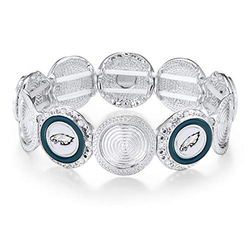 (NFL Philadelphia Eagles Stretch Logo Bracelet)