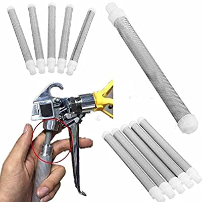 5Pcs Airless Spray 60 Mesh Airless Gun Filter Elements Accesories For Wagner