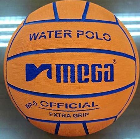 Balón de waterpolo. Grande Diseño en color naranja. Tamaño 5 ...