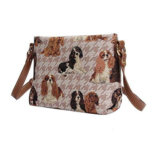 de femme messager Charles King sac tapisserie Cavalier sac femme Signare Animaux Spaniel fYCqUtwIx