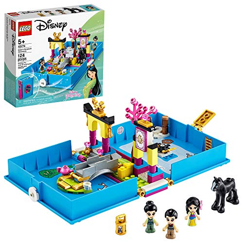 LEGO Disney Mulan's Storybook Adventures 43174 Creative Building Kit, New 2020 (124 Pieces)