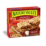 Nature Valley Crunchy Granola Bars, Apple Crisp, 1.49 Ounce 2 Bar Pouches, 6 Count, (Pack of 6)