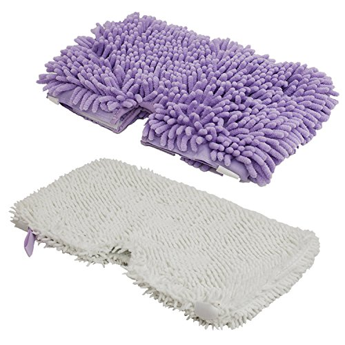 Mop Pad Cleaning Pad for Steam Pocket Mop S3500 Series for Shark white, purple