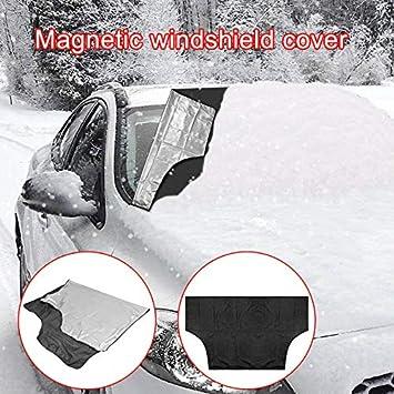 Majome Frontscheibenabdeckung Auto Magnetic Windschutzscheibe Abdeckung Schnee EIS Frostschutz Winter Besch/ützer Bildschirm Abdeckung