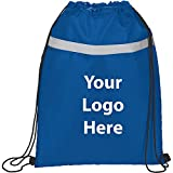 Reflecta Pocket Drawstring Sportspack - 150 Quantity - $2.55 Each - PROMOTIONAL PRODUCT / BULK / BRANDED with YOUR LOGO / CUSTOMIZED