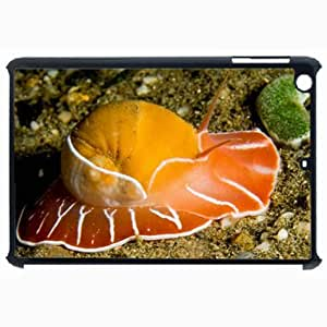 Customized Back Cover Case For iPad Air 5 Hardshell Case, Black Back Cover Design Northern Snail Personalized Unique Case For iPad Air 5