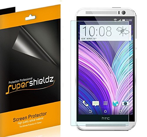 z- Anti-Bubble High Definition Clear Screen Protector for HTC One M8 - The All New HTC One M8 Screen Protector [AT&T, Verizon, Sprint, T-mobile, All Carriers] ()