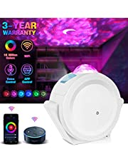 lightworld Star Projector, Led Sky Lamp 6 Color Starry Night Light Projector Kid Starlight Projector with Galaxy Nebula Space Moon Starlight Projector for Bedroom Party Birthday (WiFi)