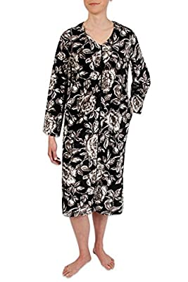 Heavenly Bodies Brushed Velour Fleece Robe, Ultra Soft Short Coverup With Long Sleeves and Full Length Zipper