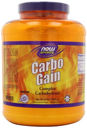 NOW Foods Carbo Gain (16 lb)