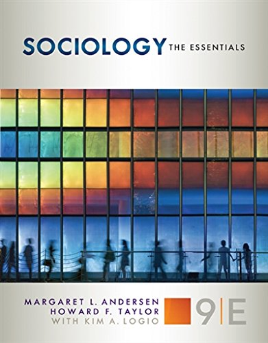 1305503082 - Sociology: The Essentials