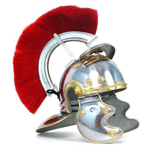 Whetstone Cutlery Crested Roman Officers Helmet (Iron Roman)