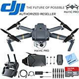 DJI Mavic Pro Quadcopter Drone with 4K Camera and Wi-Fi + Virtual Reality Experience Bundle