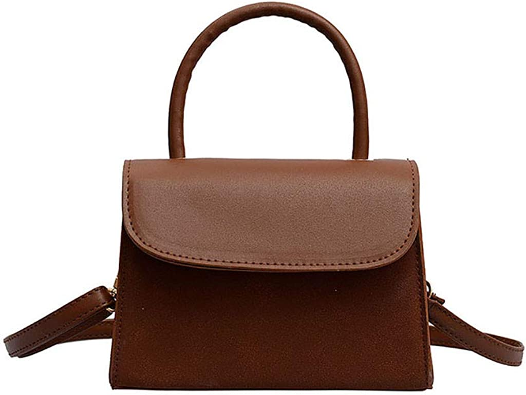 Wild Messenger Bag Shoulder Tote Brown Spot