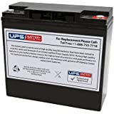 Leoch LPX12-20 12V 20Ah Compatible Replacement Battery with Insert Terminals by UPSBatteryCenter®