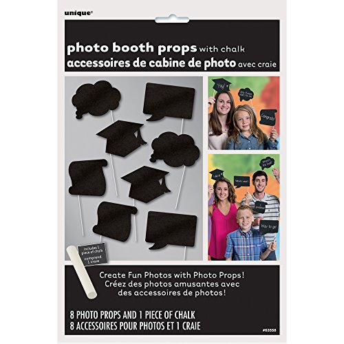 Chalkboard Graduation Photo Booth Props