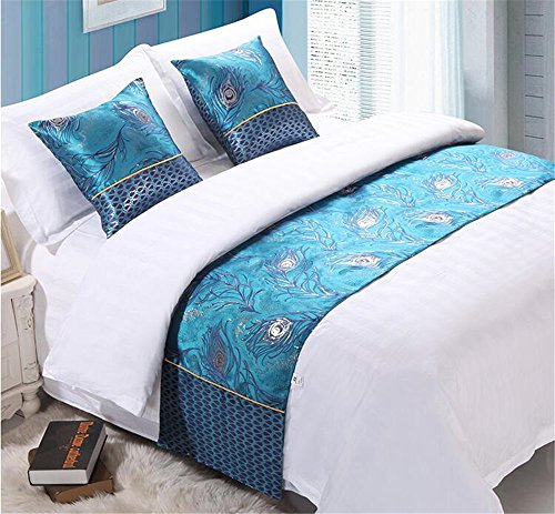 YIH Bed Runner For Foot Of Bed, Luxury Bedding Scarf Bed Decorative for Home Furniture Protector, 94