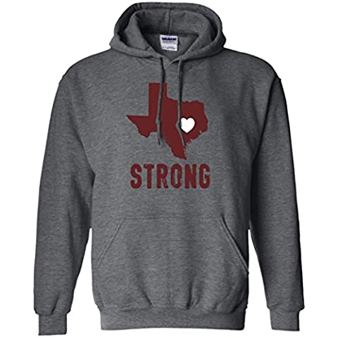 Texas Strong Supporting the Victims of Hurricane Harvey Hoodie (Hoodies Texas)