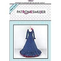 Patrón de costura vestido flamenca mujer de Nejas