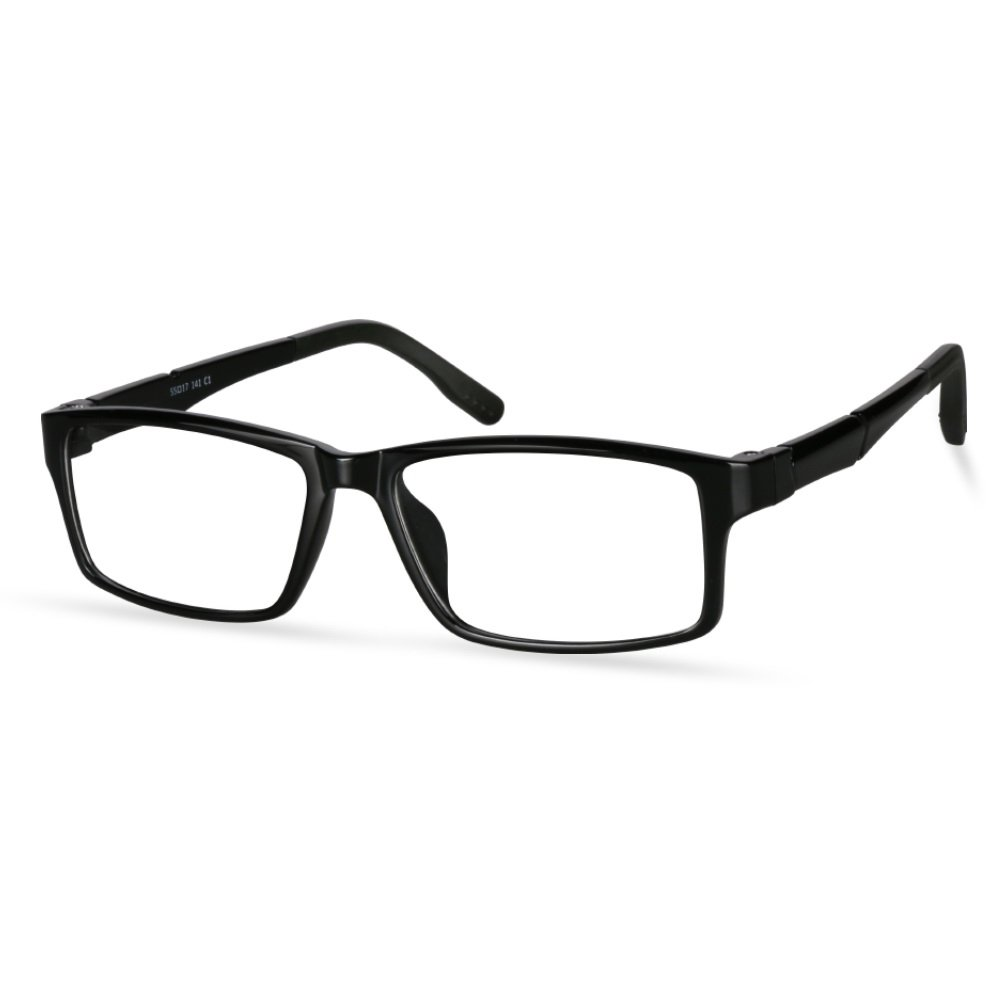 LifeArt Blue Light Blocking Computer Glasses, Stylish Reading Glasses for Women/Men, Transparent Lens Filter UV Light 400, Reduce Eyestrain (+1.25 Magnification) LifeArt Optics