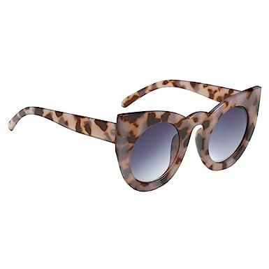 MagiDeal Lunettes De Soleil Cat Eye Style Rétro Pour Femmes Unique Design Accessoire - Blanc, Taille Unique