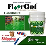 FloorClad EFC - Epoxy based Glossy Pigmented Floor Topping, Roller Coating.
