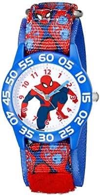 Marvel Kids' W001994 Spider-Man Analog Display Analog Quartz Blue Watch