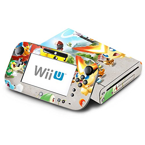 Pokemon Rumble Blast Decorative Decal Cover Skin for Nintendo Wii U Console and GamePad