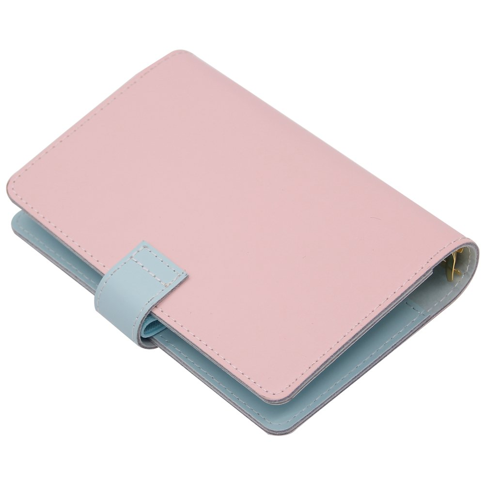 Labons 6 Anillas Botón Carpeta Filofax bolsillo Planificador A6 Rellenos Semanal Mensual diario Programa/2019 2020 Calendario/Teléfonos y ...