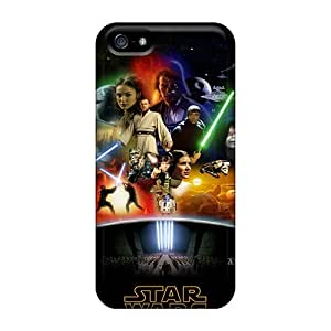 High Quality Phone Cases For Apple Iphone 5/5s With Customized Beautiful Star Wars Anthology Image RandileeStewart