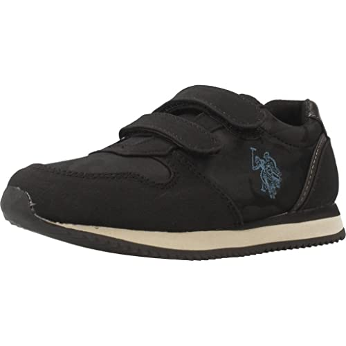 Zapatillas para niño, Color Negro, Marca POLO, Modelo Zapatillas para Niño POLO Sunny Denver Negro: Amazon.es: Zapatos y complementos