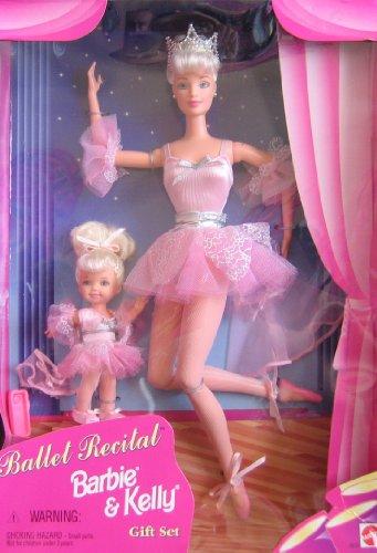 Ballet Recital BARBIE & KELLY Doll Gift Set (1997) ()