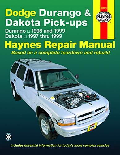 Dodge Durango (98-99) & Dakota (97-99) Haynes Repair Manual (Haynes Repair - Dodge 1998 Van
