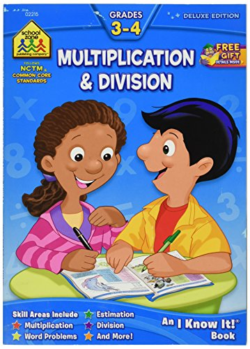 Price comparison product image Workbooks-Multiply and Divide Grades 3-4